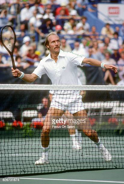 Stan Smith of the United States in action during the Men's 1979 US Open Tennis Championships circa 1979 at the USTA Tennis Center in the Queens...