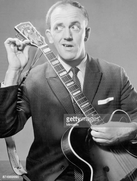 Stan Stennett the resident comedian on the Black and White Minstrel Show 16th October 1962