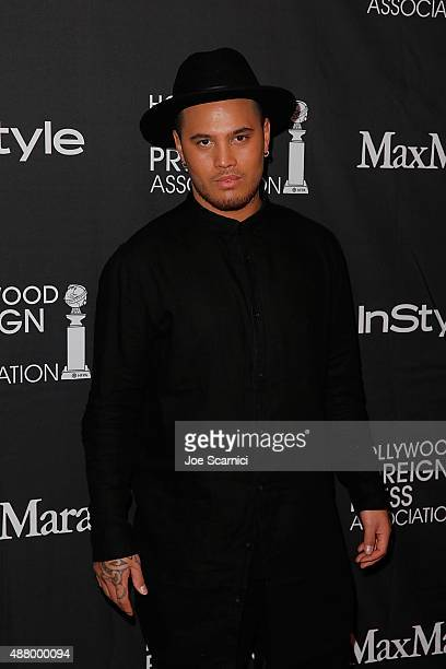 Stan Walker attends HFPA/InStyle's Annual TIFF Celebration at Windsor Arms Hotel on September 12 2015 in Toronto Canada