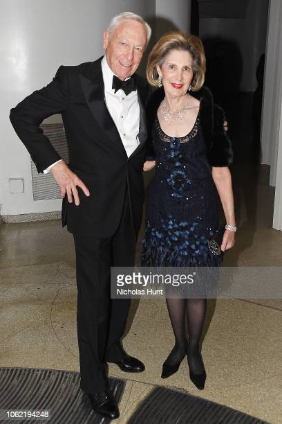 Stan Warshawsky and Sandra Warshawsky attend the Guggenheim International Gala Dinner made possible by Dior at Solomon R Guggenheim Museum on...