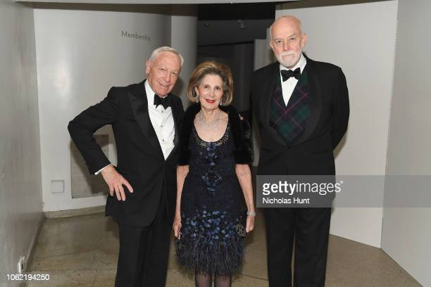 Stan Warshawsky Sandra Warshawsky and Richard Armstrong attend the Guggenheim International Gala Dinner made possible by Dior at Solomon R Guggenheim...