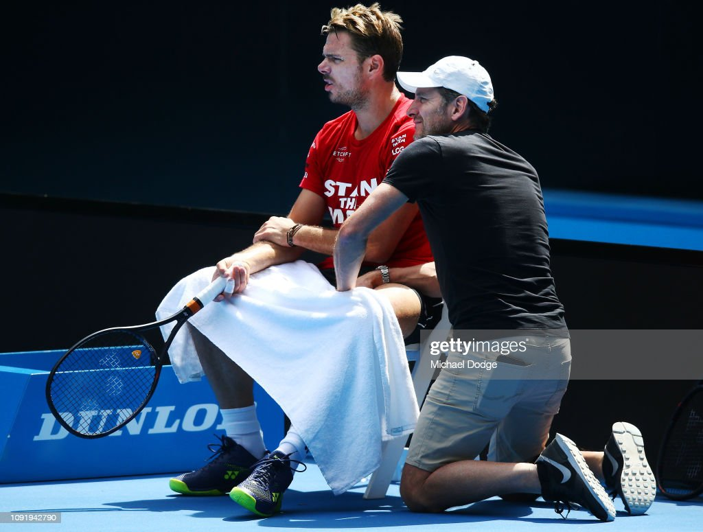 2019 Australian Open - Previews : News Photo