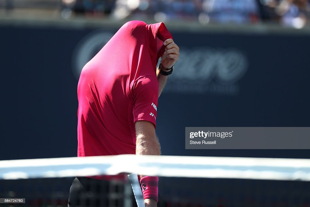 Rogers Cup ATP 1000 tournament semi-final action : News Photo