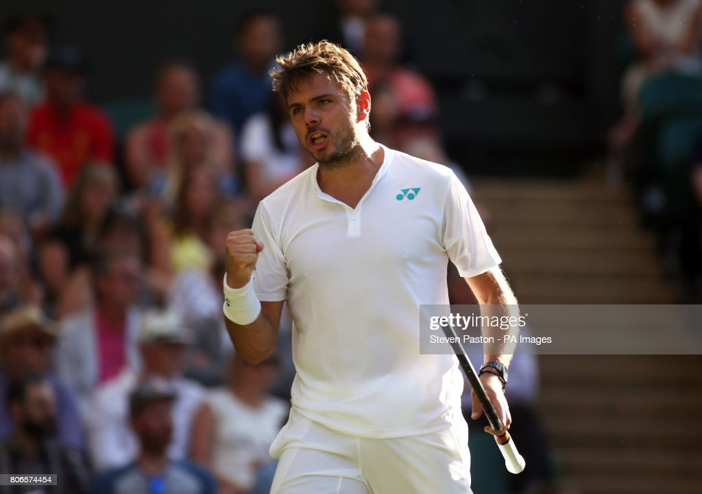 Wimbledon 2017 - Day One - The All England Lawn Tennis and Croquet Club : News Photo