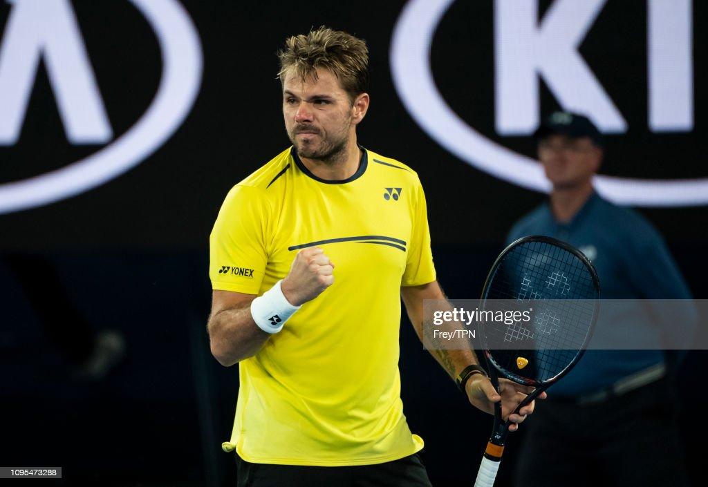 2019 Australian Open - Day 4 : News Photo