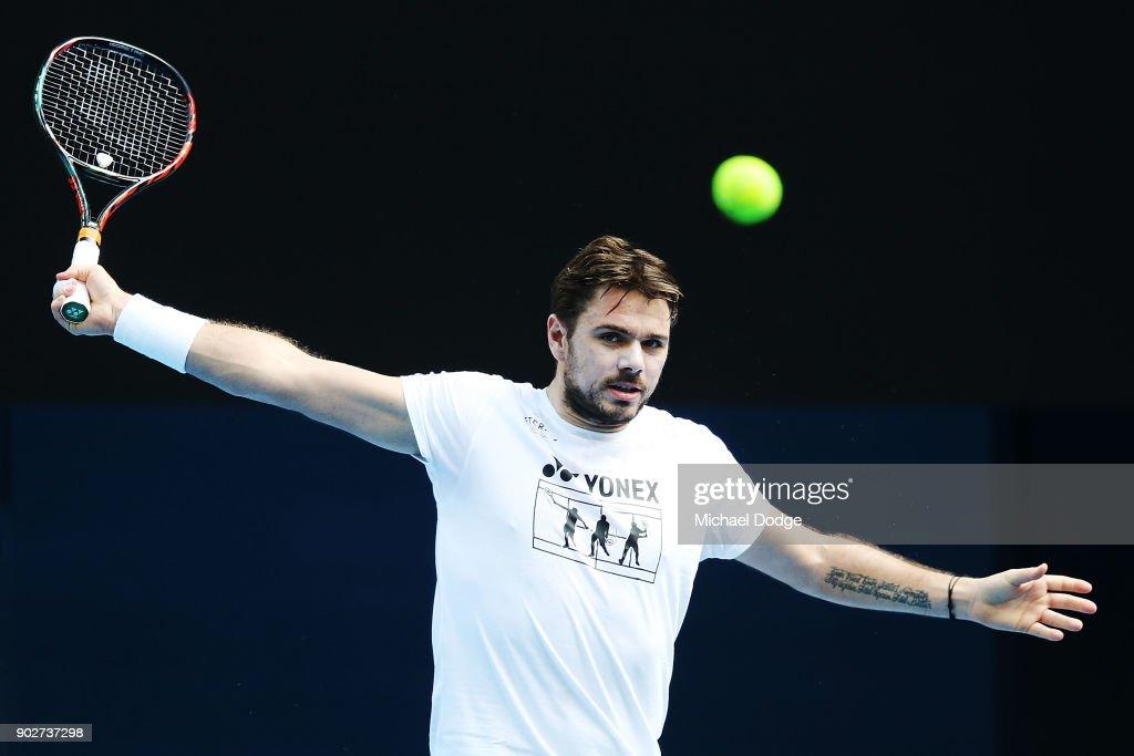 2018 Australian Open - Previews : News Photo