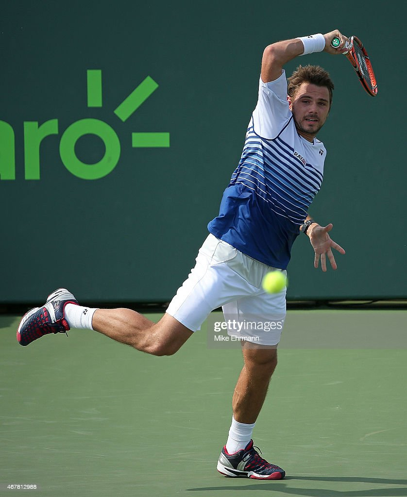 Miami Open Tennis - Day 5 : News Photo