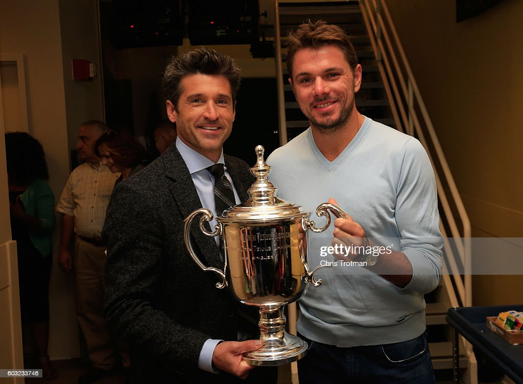 ¿Cuánto mide Patrick Dempsey? - Altura - Real height Stan-wawrinka-of-switzerland-the-2016-us-open-mens-champion-and-actor-picture-id603233746