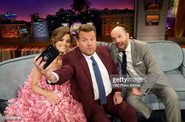 Stana Katic and Paul Scheer chat with James and the 1975 band performs on THE LATE LATE SHOW WITH JAMES CORDEN, scheduled to air Monday, July 22nd,...
