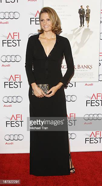 Stana Katic arrives at the AFI FEST 2013 Saving Mr Banks opening night premiere held at TCL Chinese Theatre on November 7 2013 in Hollywood California