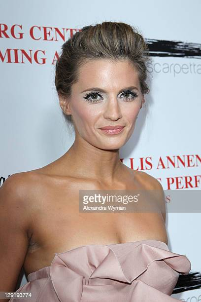 Stana Katic at The Wallis Annenberg Center For The Performing Arts' Premiere Of Il Teatro Alla Moda held on October 13 2011 in Beverly Hills...