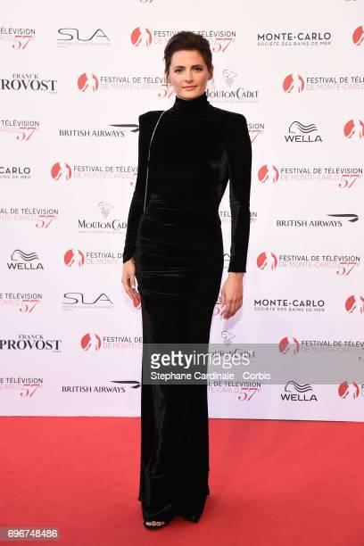 Stana Katic attends the 57th Monte Carlo TV Festival Opening Ceremony on June 16 2017 in MonteCarlo Monaco