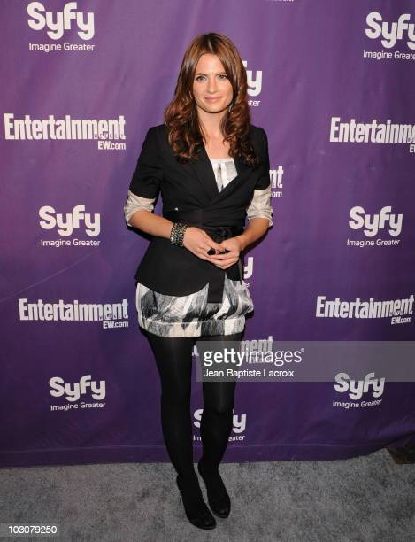 Stana Katic attends the EW and SyFy party during Comic-Con 2010 at Hotel Solamar on July 24, 2010 in San Diego, California.