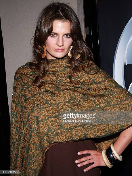 Stana Katic during '24' 100th Episode and Fifth Season Premiere Party Arrivals at Cabana Club in Hollywood California United States