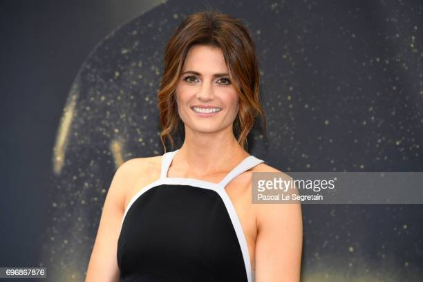 Stana Katic from 'Absentia' attends a photocall during the 57th Monte Carlo TV Festival Day 2 on June 17 2017 in MonteCarlo Monaco