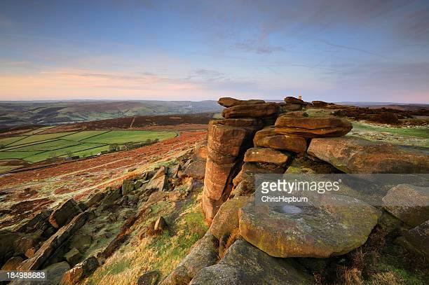 Stanage Edge Rocks, Peak District