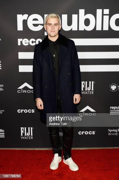 Stanaj at Republic Records Grammy after party at Spring Place Beverly Hills on February 10 2019 in Beverly Hills California