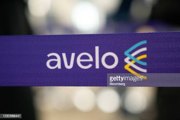 Stanchion with the Avelo Airlines logo at Hollywood Burbank Airport in Burbank, California, U.S., on Wednesday, April 28, 2021. New money is flowing...