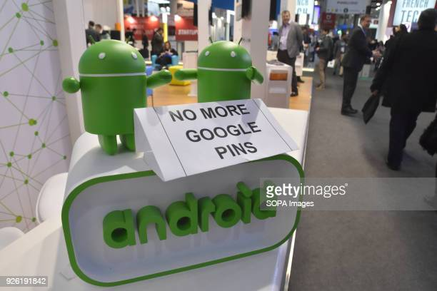A stand alert from Android seen at the Mobile World Congress 2018 in Barcelona The Mobile World Congress 2018 is being hosted in Barcelona from 26...