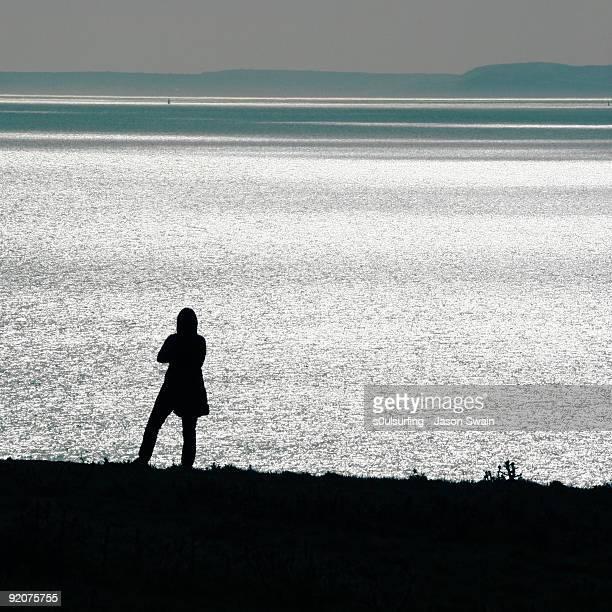 stand coastal contemplation - s0ulsurfing stockfoto's en -beelden