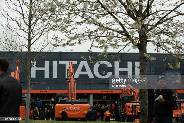 Stand of Hitachi The Bauma is the most important construction fair in the world and the biggest fair in general It takes place from 842019 1442019 in...