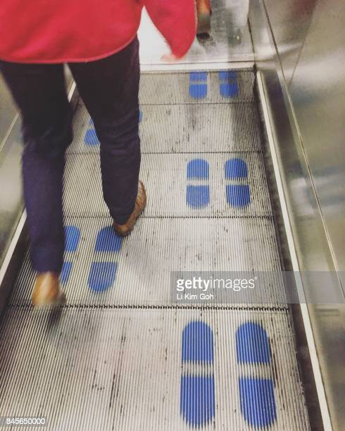 Stand on right walk on left escalator etiquette in London