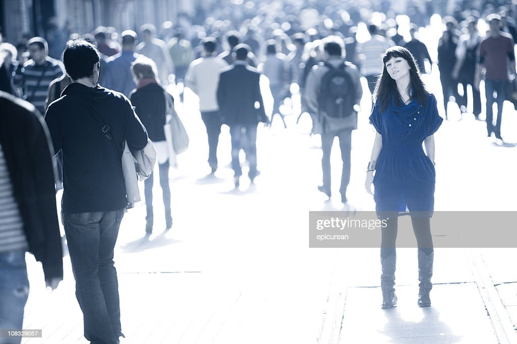 Stand out from the crowd : Stock Photo