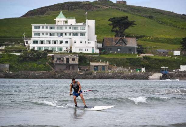 GBR: Burgh Island Hotel Opens To Guests After Coronavrius Lockdown