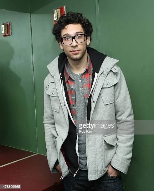 Stand up comedian Rick Glassman backstage in green room at The Undateable Tour opening night at Caroline's On Broadway on March 2 2014 in New York...