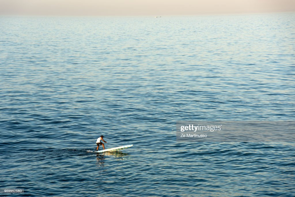 Stand Up Paddle : Stock-Foto