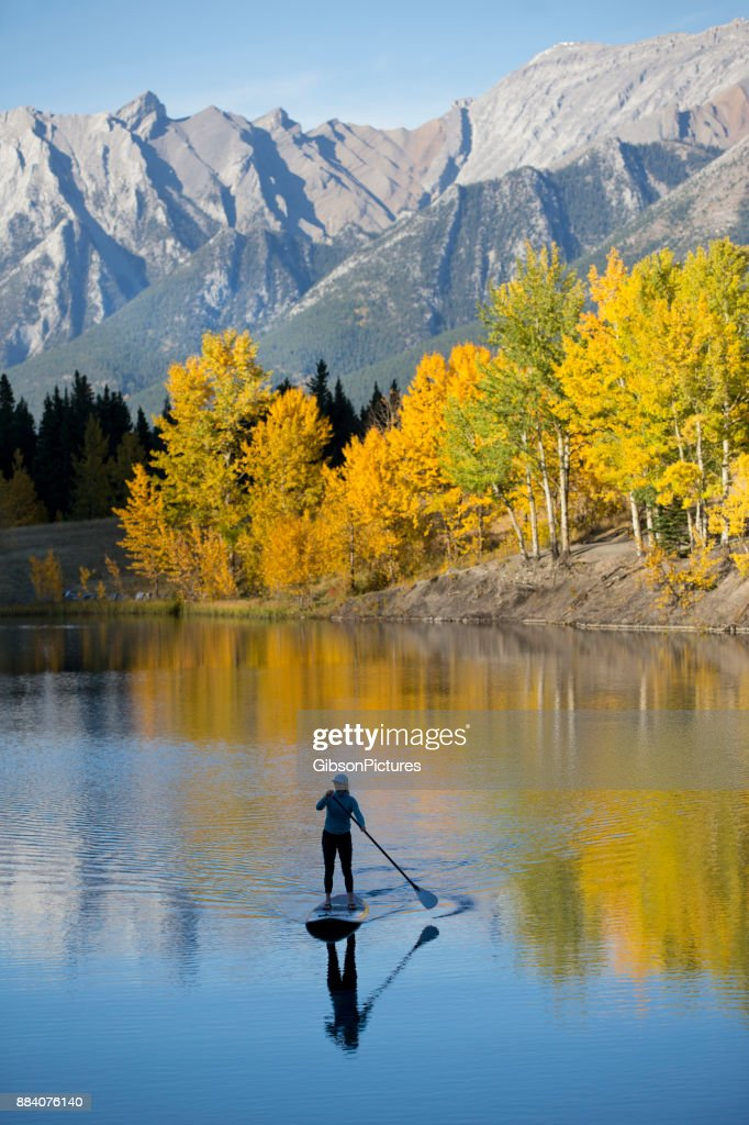Stand Up Paddleboard Adventure : Stock Photo