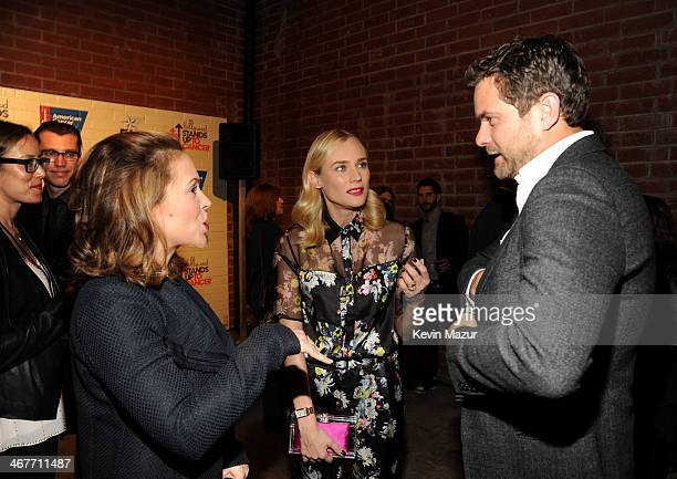 Stand Up To Cancer CoFounder Sherry Lansing actors Joshua Jackson and Diane Kruger attend Hollywood Stands Up To Cancer Event with contributors...