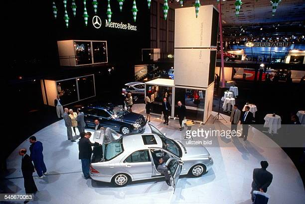 Stand von MercedesBenz auf der AAA Oktober 1998