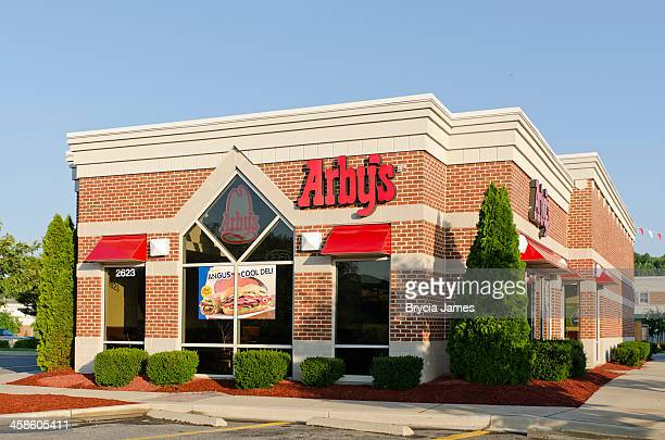 Standalone Arby's Location in a Modern Shopping Center