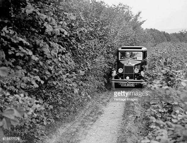 Standard Big Nine of GW Olive taking part in the North West London Motor Club Trial 1 June 1929 Standard Big Nine 1287 cc Vehicle Reg No YX9541 Event...