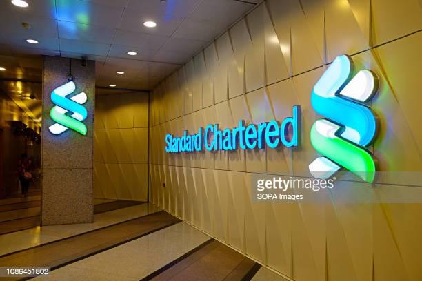 Standard Chartered seen in Hong Kong