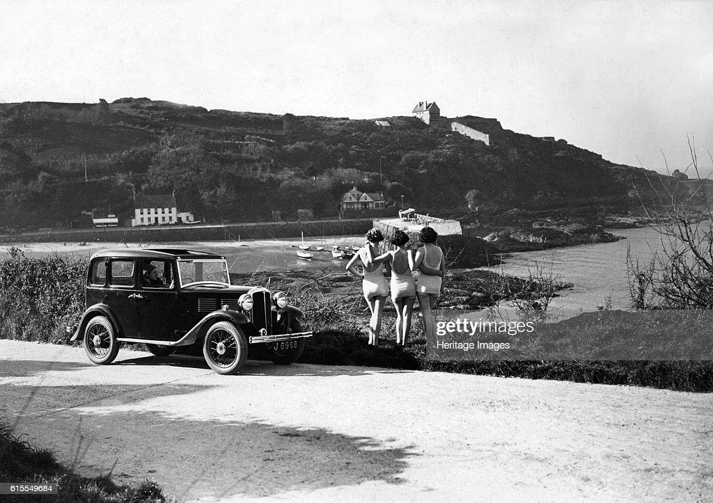 1932 Standard Little Nine saloon at Royal Bay, Jersey : News Photo