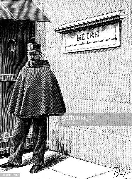 Standard Metre in the Petit Luxembourg Paris 1904 Set up when metrification was introduced by the French National Assembly between 1791 and 1795...