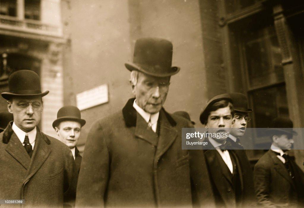 John D. Rockefeller : News Photo