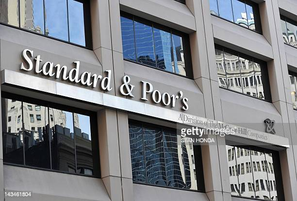 Standard Poor's headquarters in the financial district of New York on August 6 2011 The United States' credit rating was cut for the first time ever...