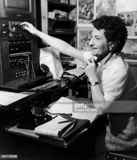 Standard Téléphonique année 50