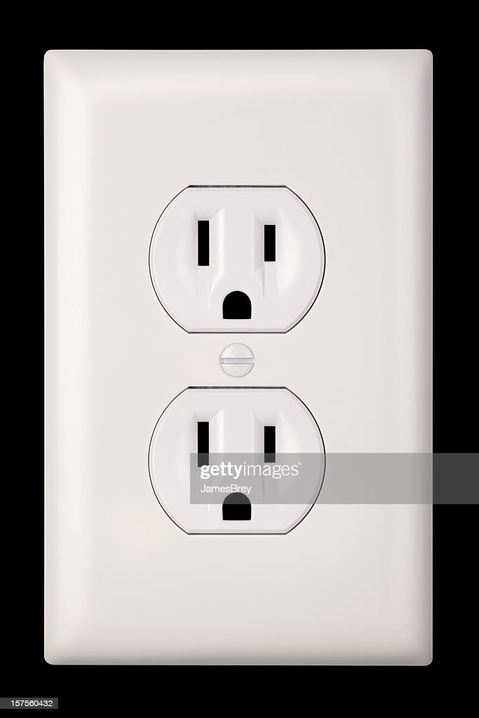 Standard Two Plug Three Prong Grounded United States Electrical ...