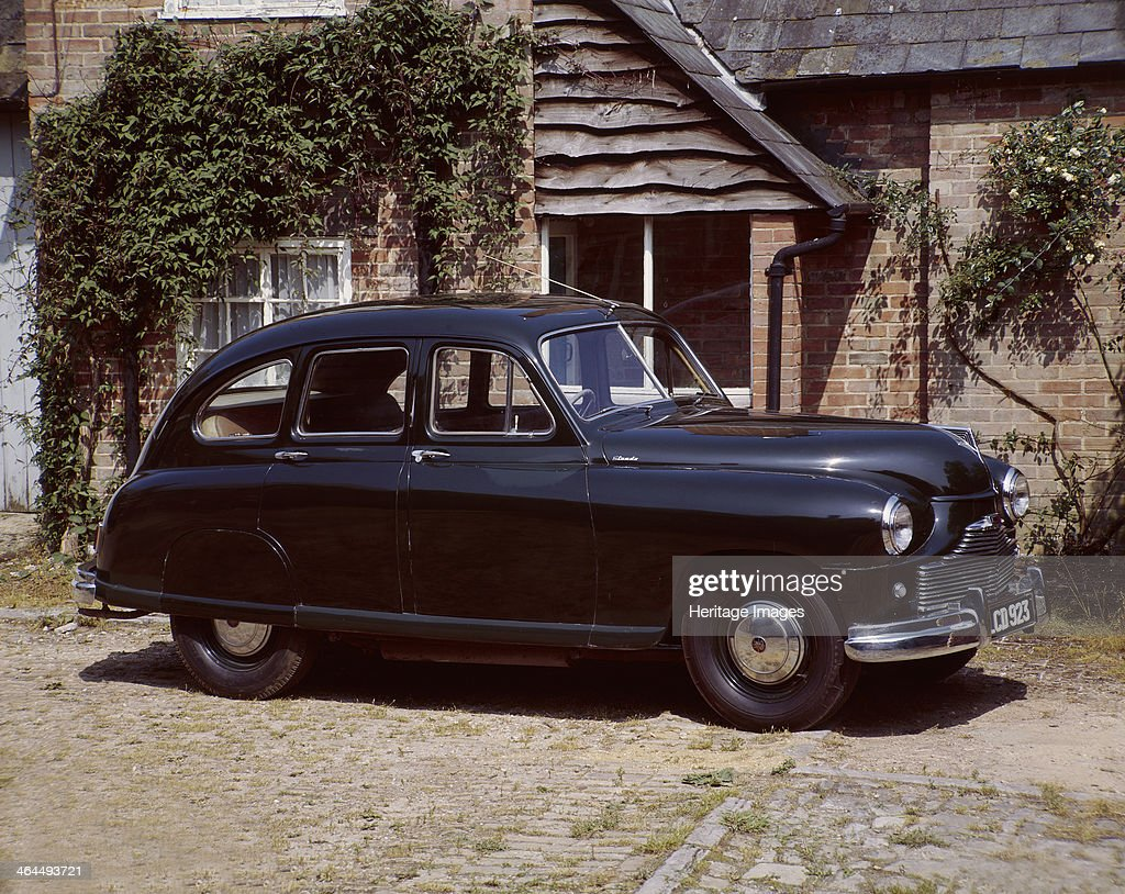 A 1951 Standard \'Vanguard 1\'. Pictures | Getty Images