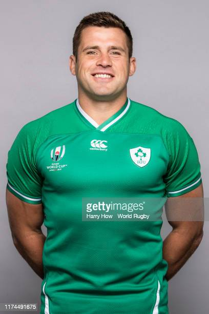 Stander of Ireland poses for a portrait during the Ireland Rugby World Cup 2019 squad photo call on September 13, 2019 in Chiba, Japan.