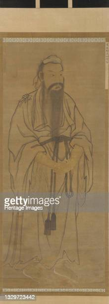 Standing figure of Lü Dongbin, Ming or Qing dynasty, 17th century. Artist Unknown.