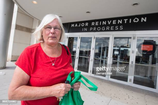 MISSISSAUGA ON OCTOBER 10 Standing outside the Erin Mills Town Centre Sears in Mississauga Carolyn Hitchinson of Mississauga talks about her memories...