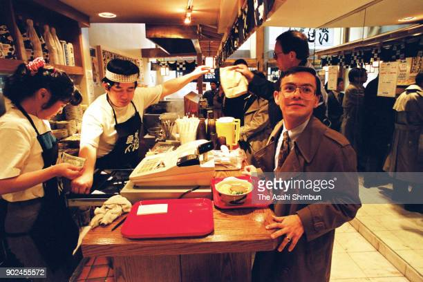 A standing soba noodle restaurant opens on November 18 1992 in New York City