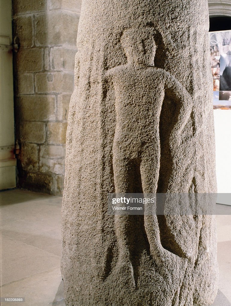Standing stone of kervadel detail hercules mars and mercury can