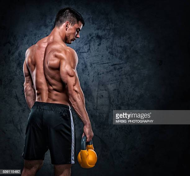 standing strong - handsome bodybuilders stock photos and pictures
