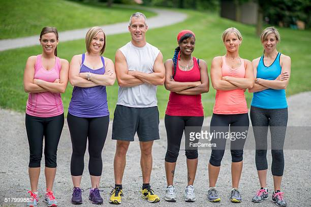 Standing Together Before a Run